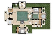 Grundriss villa mit pool  Villa mit Pool | Mandarin Oriental Hotel Marrakesch