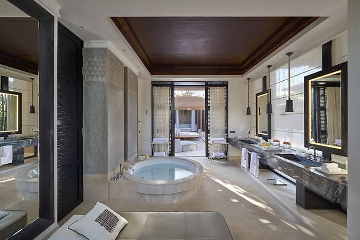 Holiday Pool Villa Mandarin Oriental Hotel Marrakech
