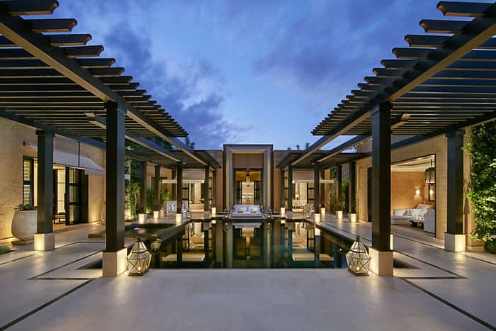 holiday pool villa mandarin oriental hotel marrakech. Black Bedroom Furniture Sets. Home Design Ideas