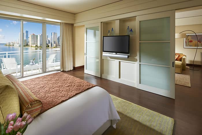 Brickell Suite Bedroom