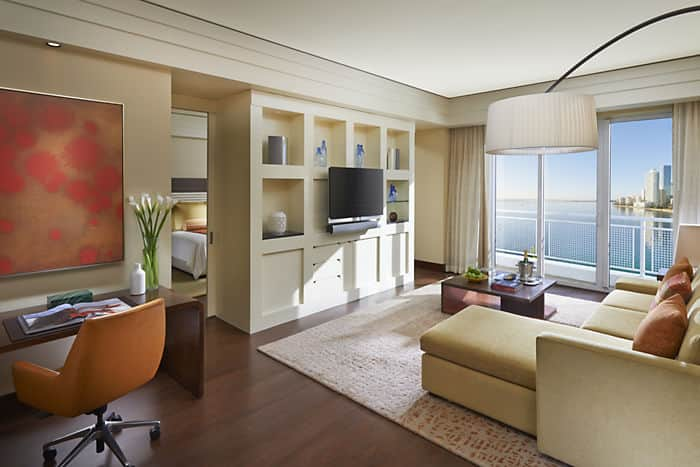 Brickell Suite Living Room