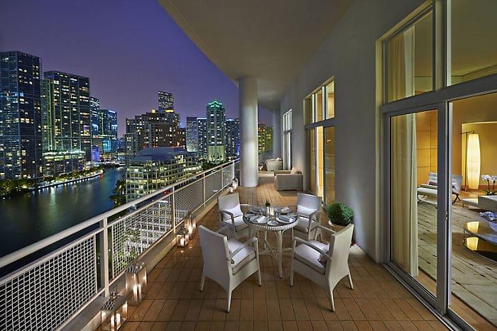 Oriental Luxury Hotel Suite Mandarin Oriental Miami