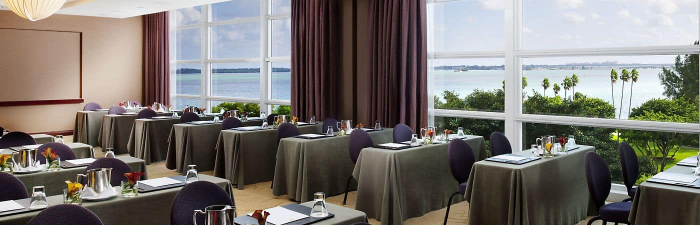 Mandarin Oriental, Miami's prestigious hotel venues are ideal for every occasion.