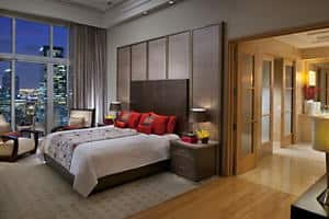 Oriental Penthouse Suite Bedroom