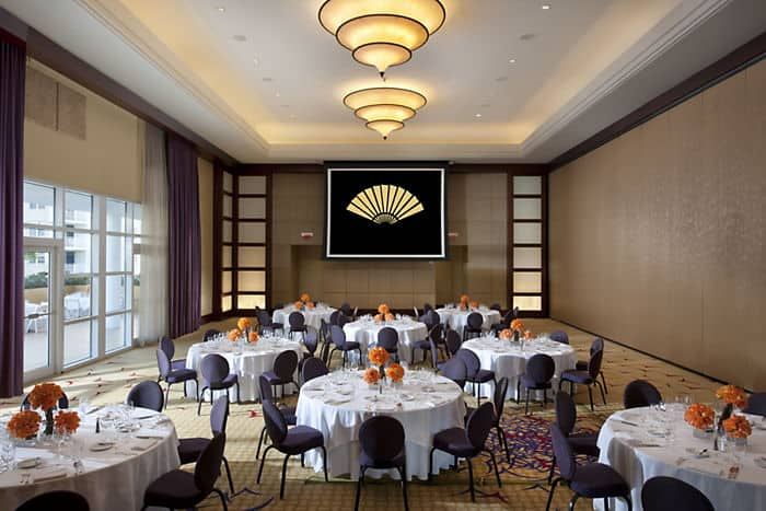 miami event space amp facilities mandarin oriental miami