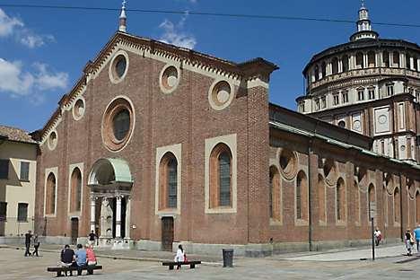 Santa Maria delle Grazie, home of Da Vinci's 'The Last Supper'