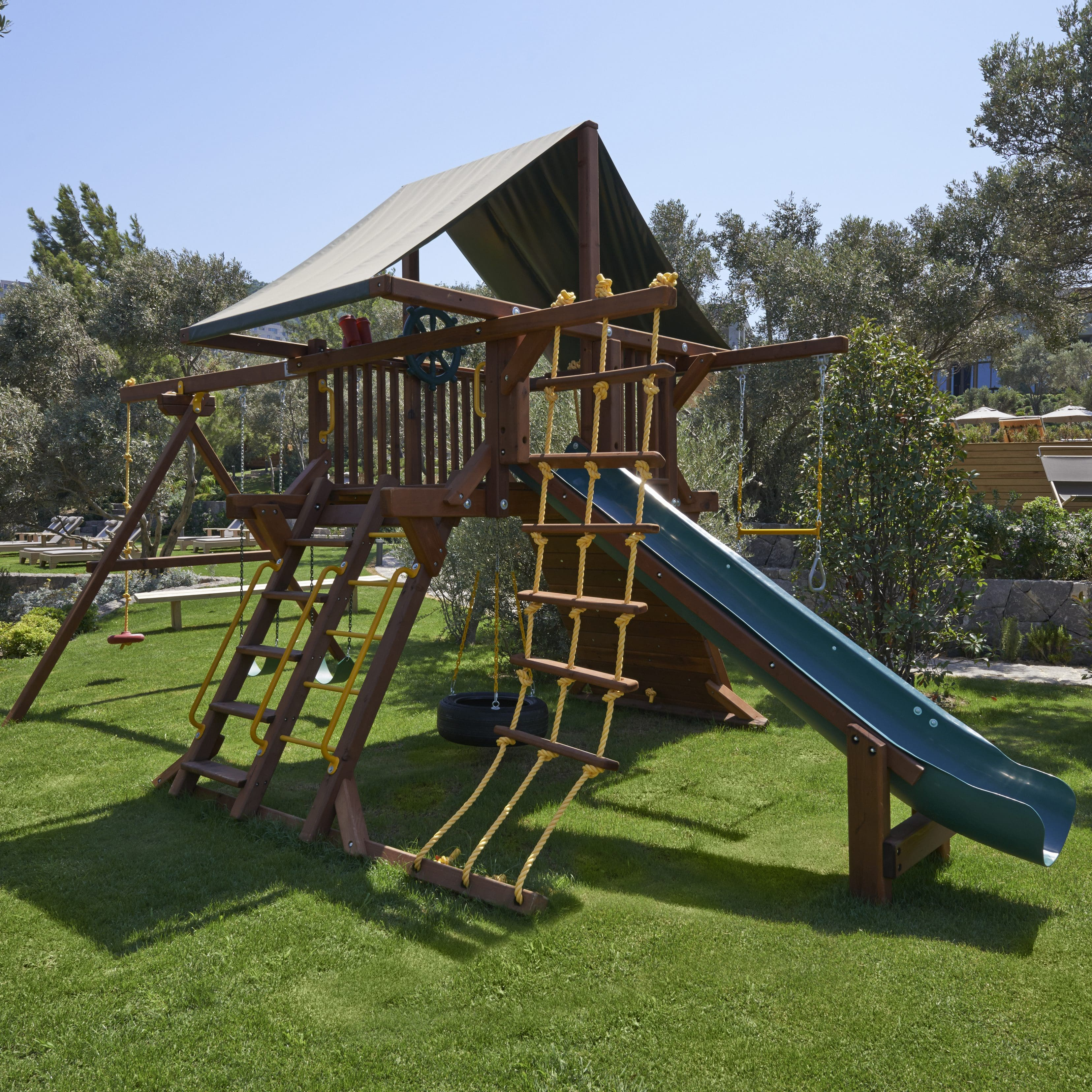 A play area at Mandarin Oriental, Bodrum