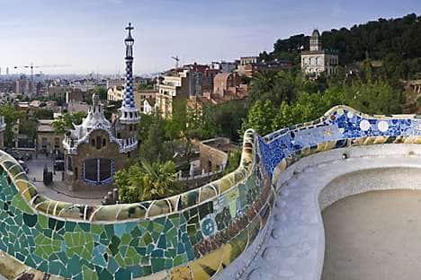 Children will enjoy the enchanting sight of Gaudí's Park Güell in Barcelona