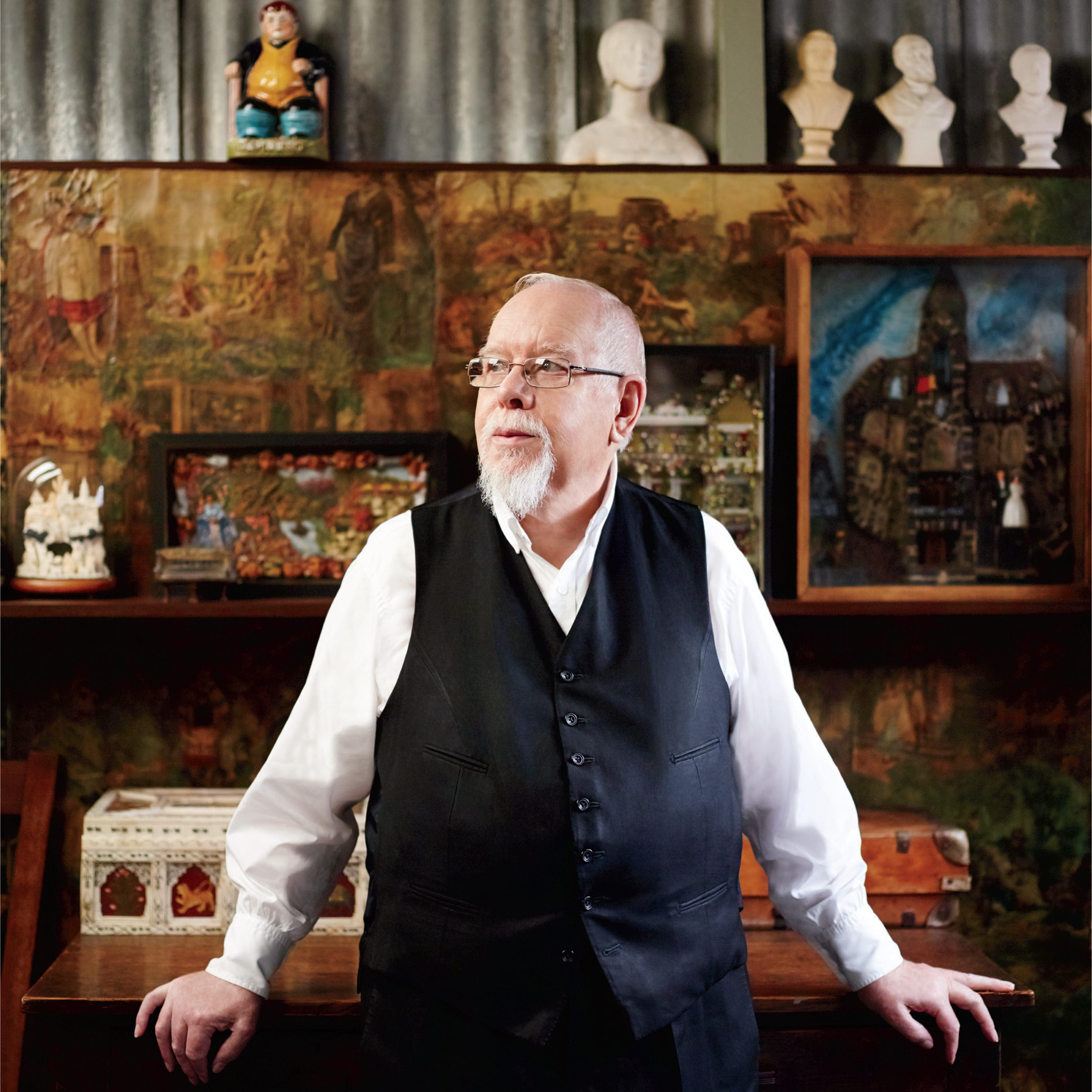 Peter Blake's 'He's a Fan' campaign portrait by Mary McCartney