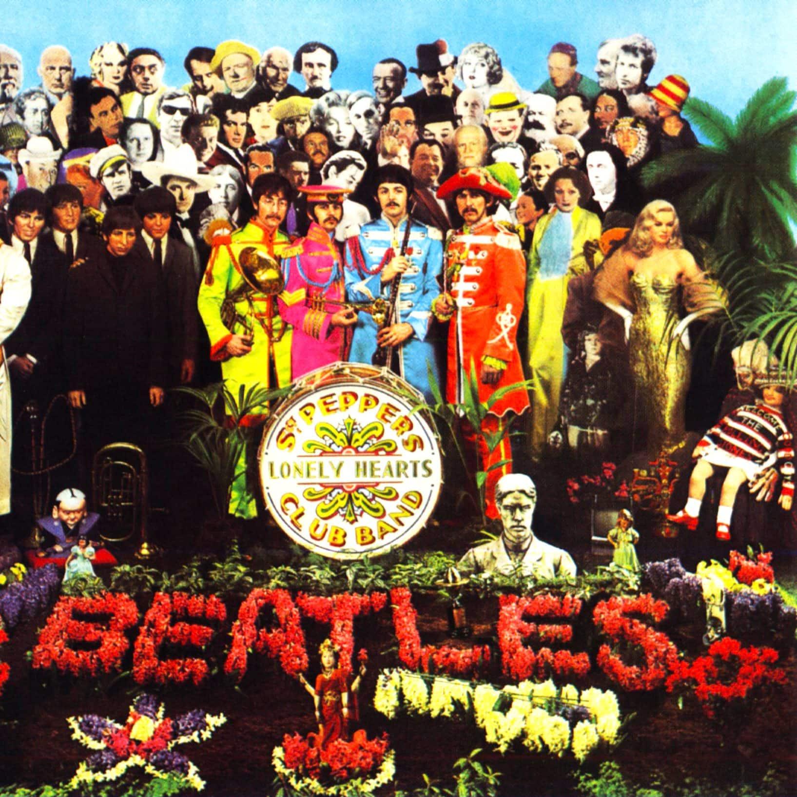 Blake's design for the Beatles' eighth album, 1967