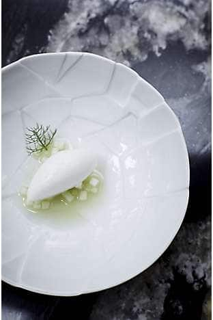 Refreshing Apple and Fennel Sorbet