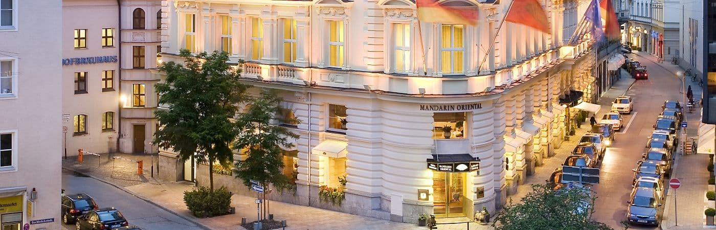 Located in the heart of Munich, the Mandarin Oriental Hotel provides guests with easy access to all that the city has to offer.