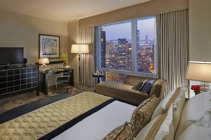 skyline view hotel rooms in new york mandarin oriental new york