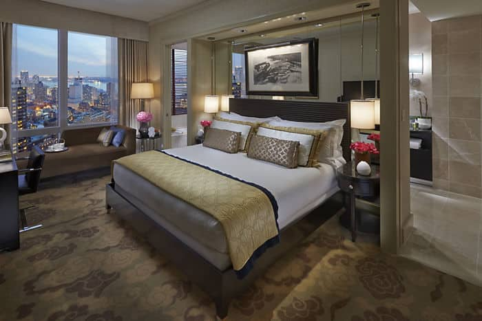 Hudson River View Hotel Room Mandarin Oriental New York