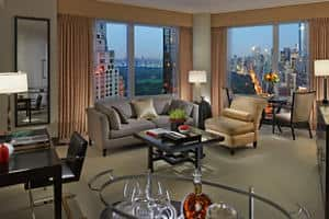 Central Park View Suite - Living Room