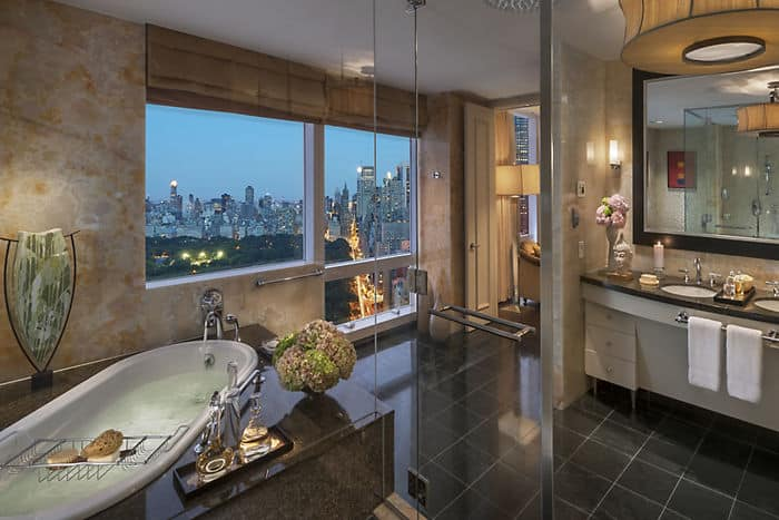 Presidential Hotel Suites In New York Mandarin Oriental