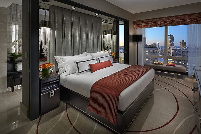 Central Park View Hotel Suite Mandarin Oriental New York