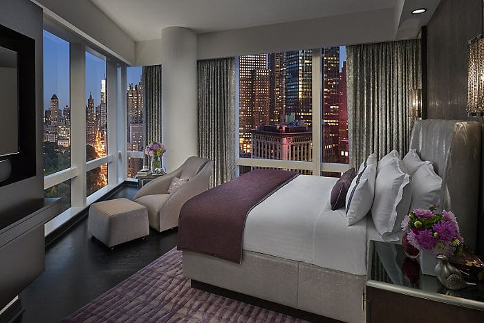 Premier central park view suite mandarin oriental new york for Asian furniture nyc