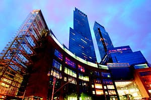 Mandarin Oriental's high rise New York City hotel located on Columbus Circle.