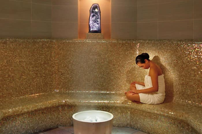 Amethyst Crystal Steam Room