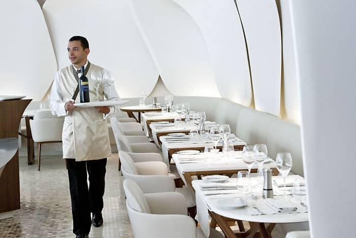 Camelia restaurant mandarin oriental hotel paris - Restaurant cuisine moleculaire paris thierry marx ...