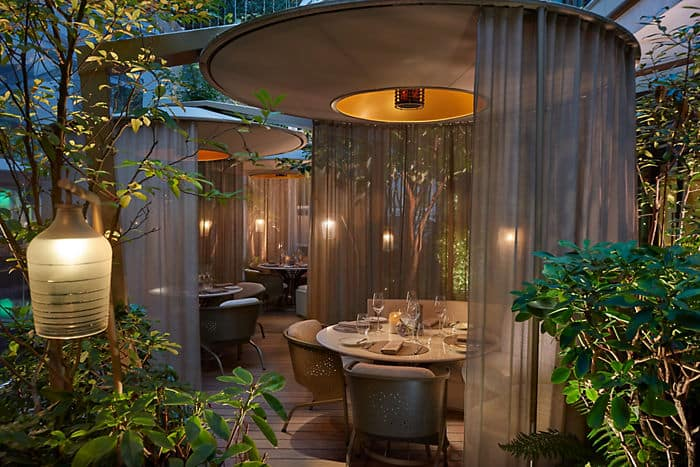 Restaurant cam lia h tel mandarin oriental paris for Restaurant jardin lee