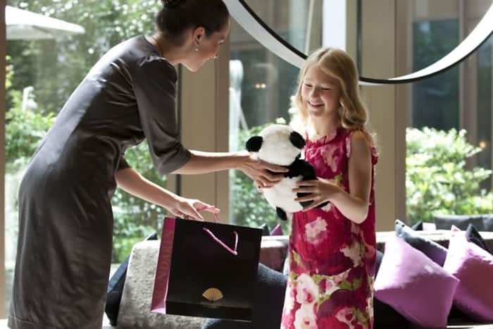Mandarin Oriental, Paris is a family-friendly hotel accommodating guests of all ages.