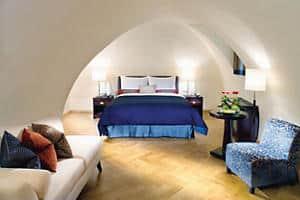 غرفة النوم في Oriental Suite