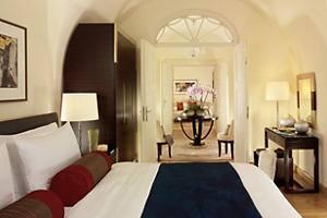 Dormitorio de la suite Presidential
