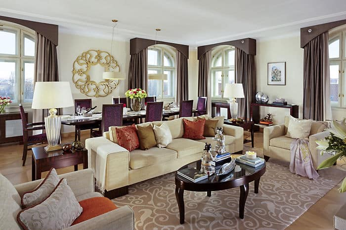 Presidential Suite Living Room