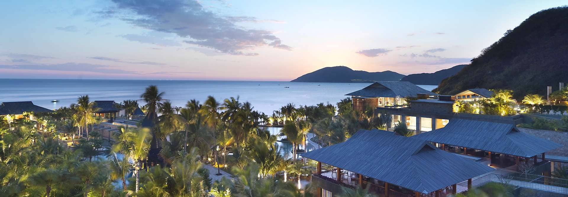 Mandarin Oriental, Sanya is an exclusive island destination with luxurious beach front bungalows and a first class spa.