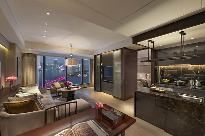 One Bedroom Apartment Luxury Apartments By Mandarin Oriental Shanghai