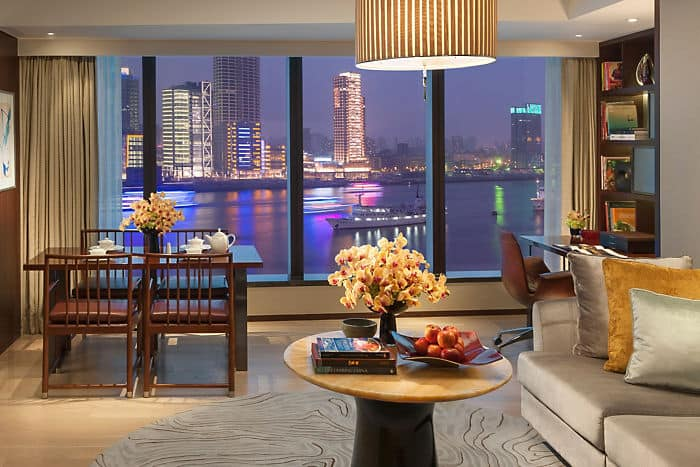 Three Bedroom Apartment Luxury Apartments By Mandarin Oriental Shanghai