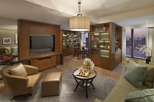 Pearl Tower Suite - Living Room