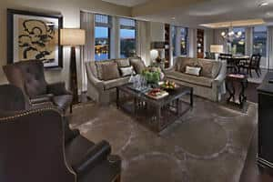 Jefferson Suite - Living Room