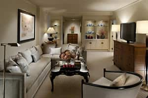 Mandarin Suite - Living Room