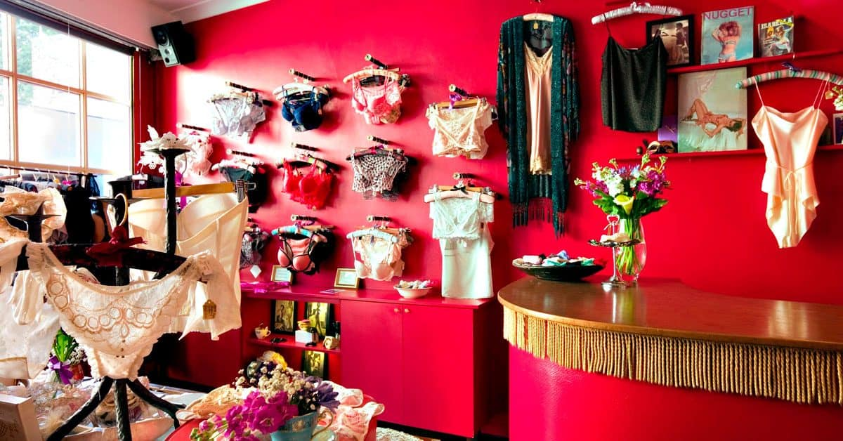 Bespoke, handcrafted lingerie at Tallulah's, London