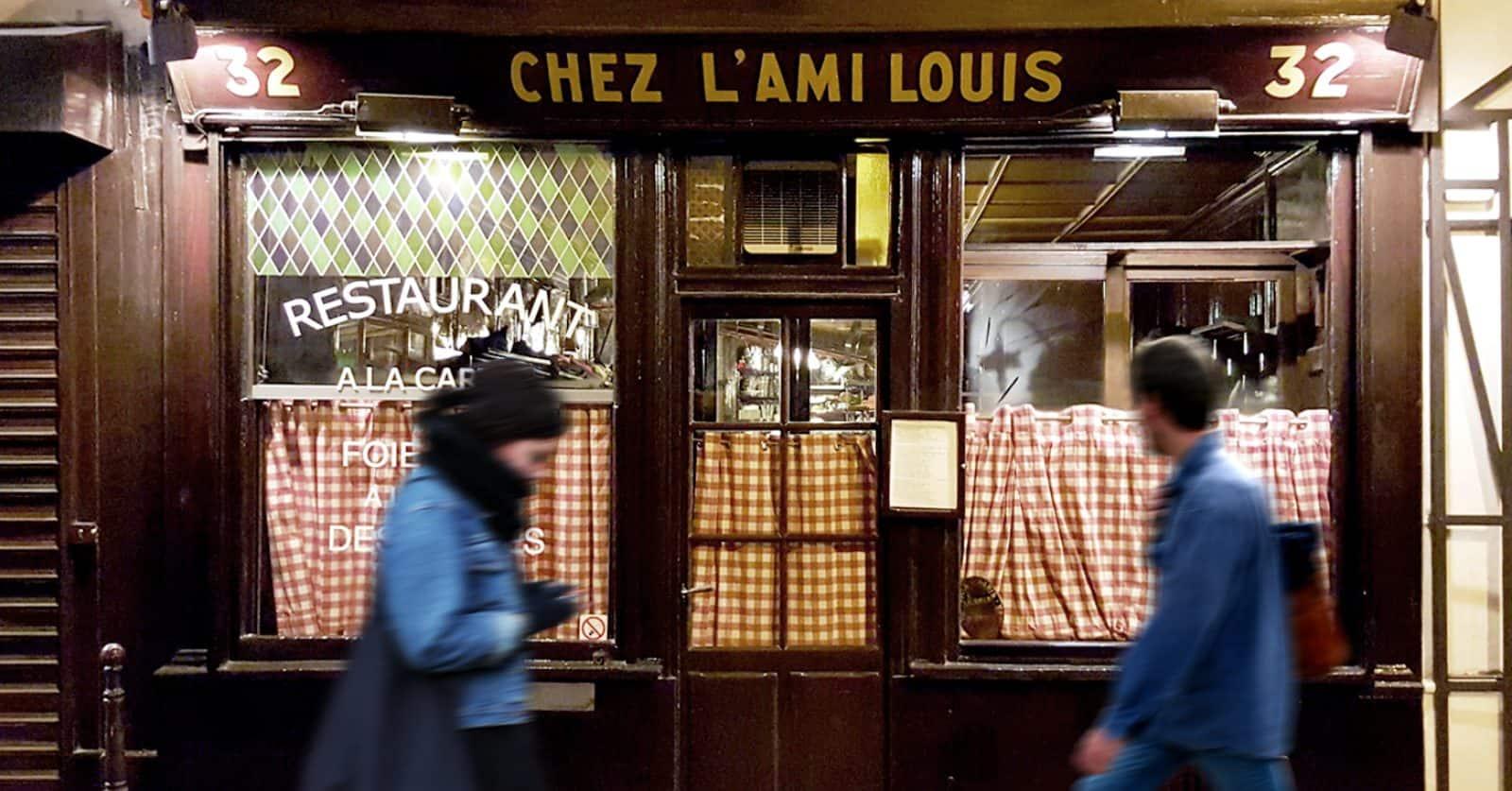 Chez l'Ami Louis Bistro, Paris
