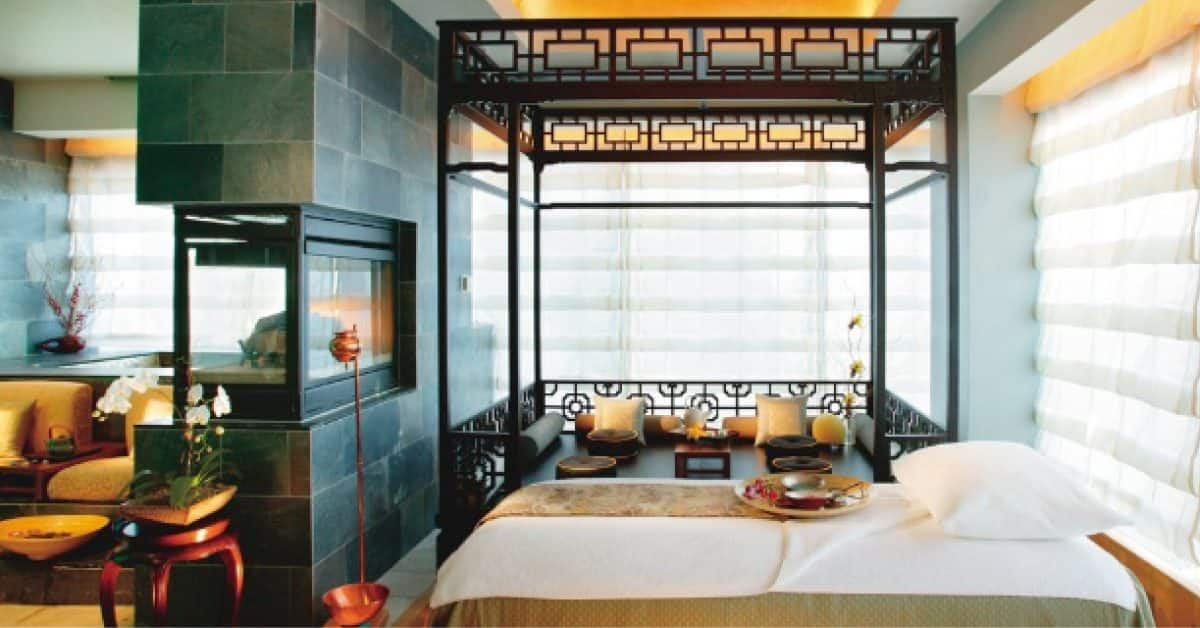 Mandarin Oriental New York Spa Treatment Room