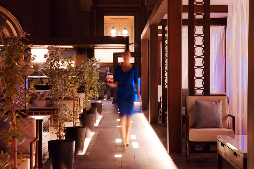Hakkasan, Mandarin Oriental, Abu Dhabi, Emirates Palace