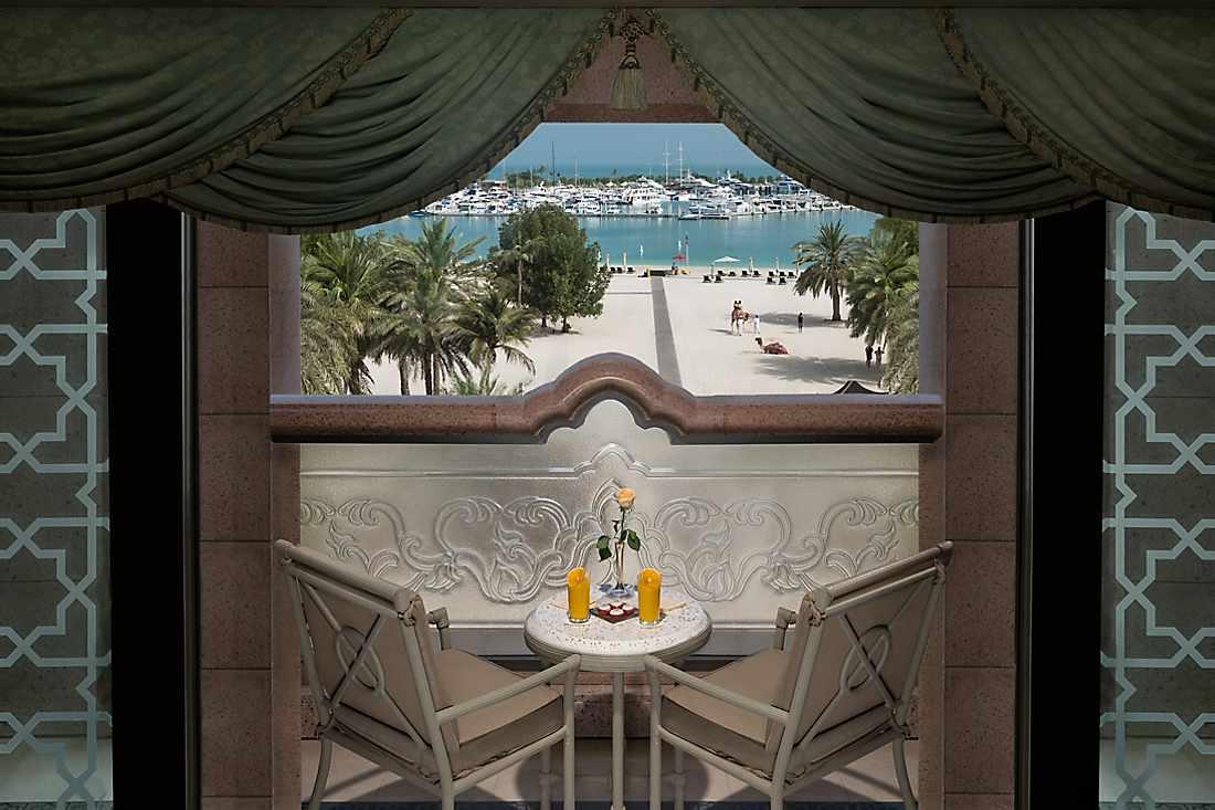 Khaleej Suite balcony