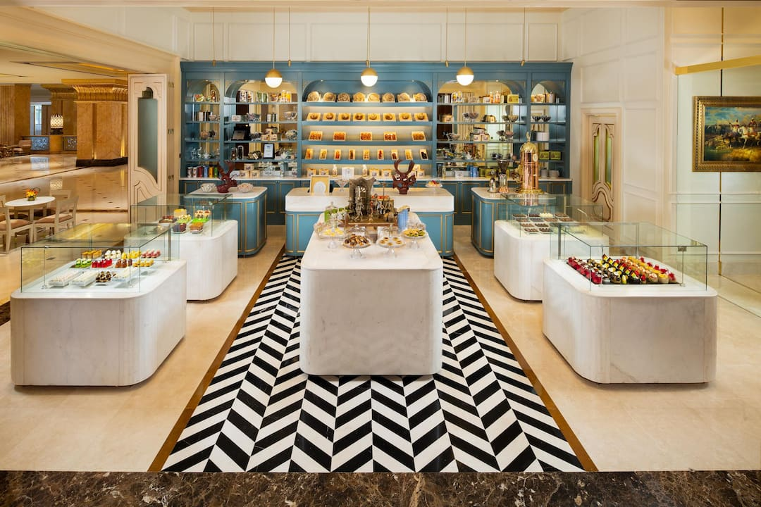 Le Café, Mandarin Oriental, Abu Dhabi, Emirates Palace