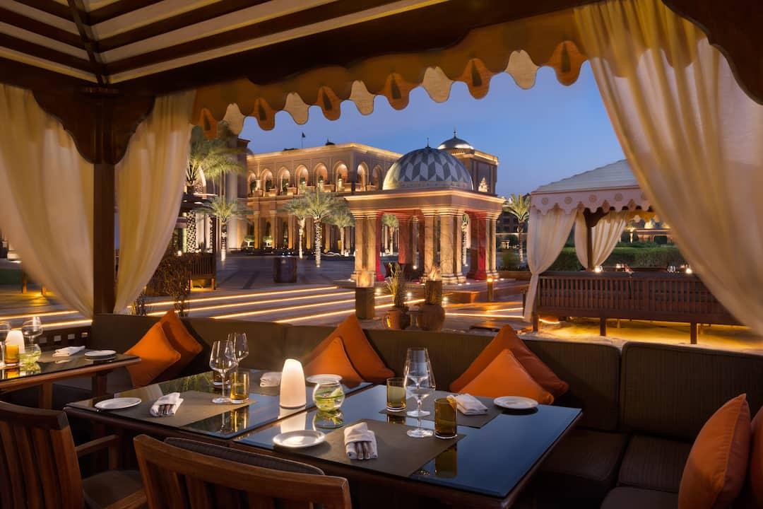 BBQ Al Qasr, Mandarin Oriental, Abu Dhabi, Emirates Palace