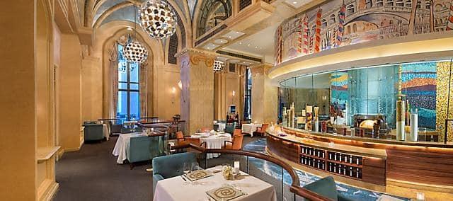 Mezzaluna, Mandarin Oriental, Emirates Palace, Abu Dhabi