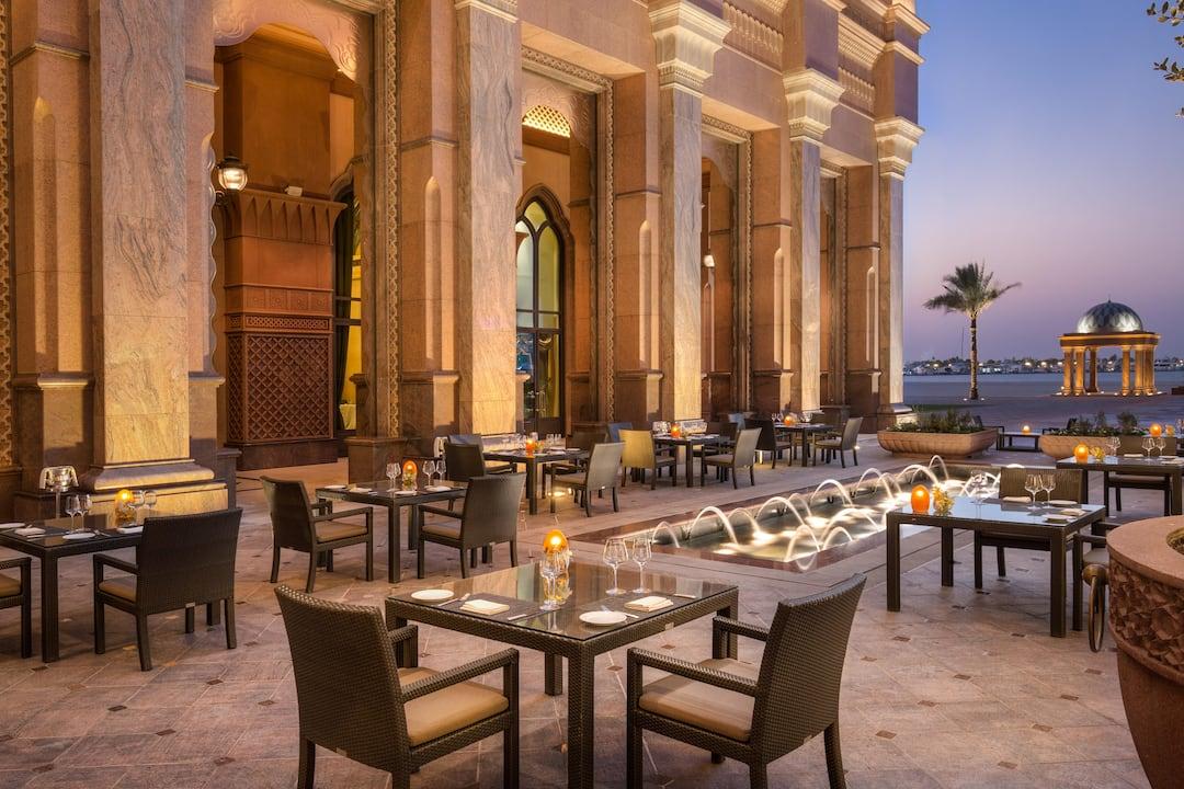 Mezzalunai, Mandarin Oriental, Abu Dhabi, Emirates Palace