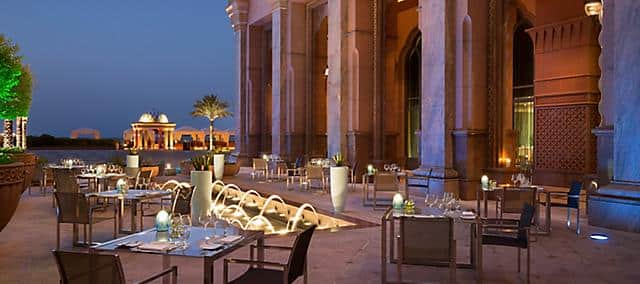 Sayad, Mandarin Oriental, Emirates Palace, Abu Dhabi