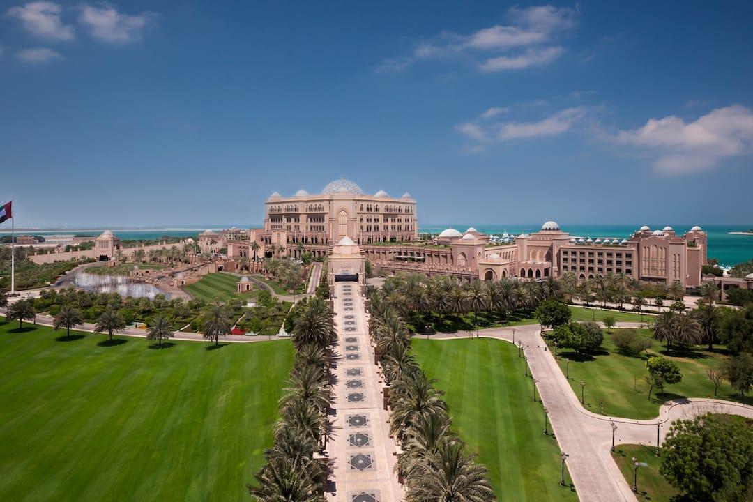 Exterior view of Emirates Palace