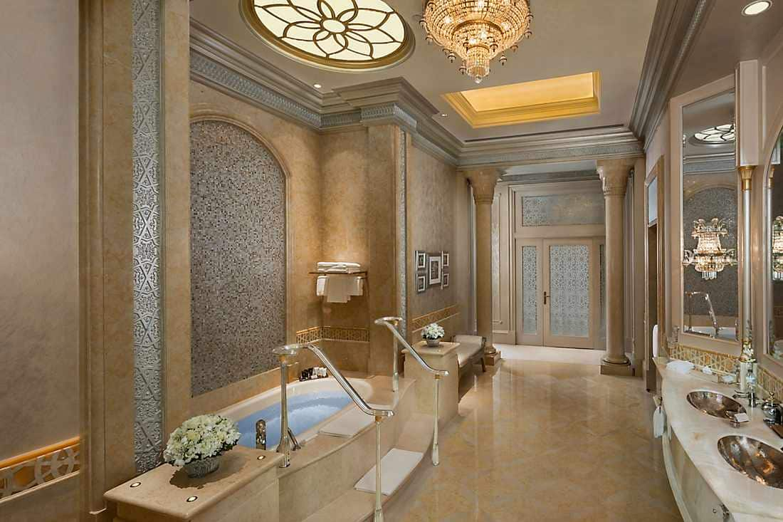 Three Bedroom Palace Suite - bathroom