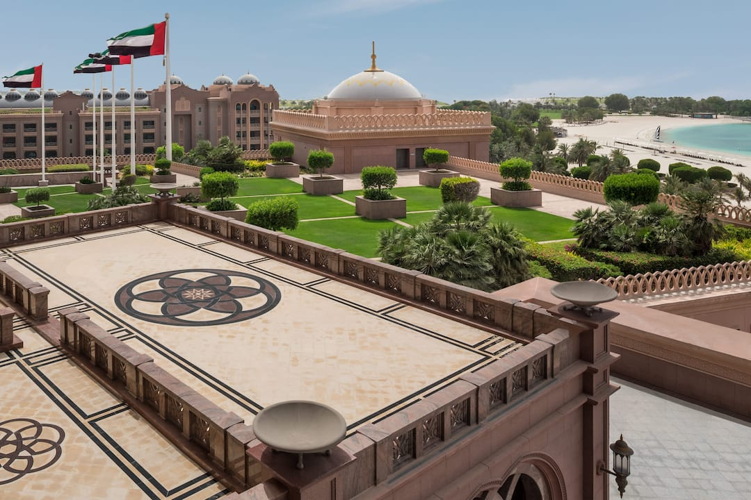 Emirates Palace Pearl Suite balcony