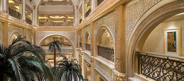 Emirates Palace atrium